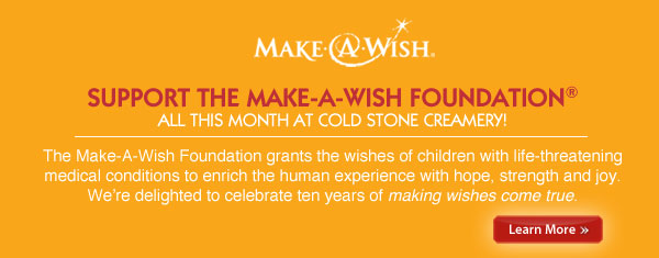 Support Make-A-Wish Month!